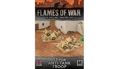 Desert Rats 17 pdr Anti-tank Troop (Plastic)
