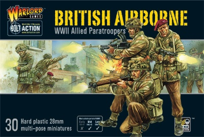 British Airborne WWII Allied Paratroopers