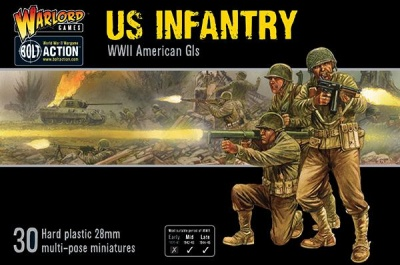 US Infantry Plastic Boxed Set