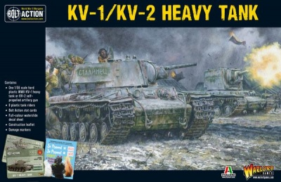 Soviet KV-1 or KV-2 Plastic Boxed Set