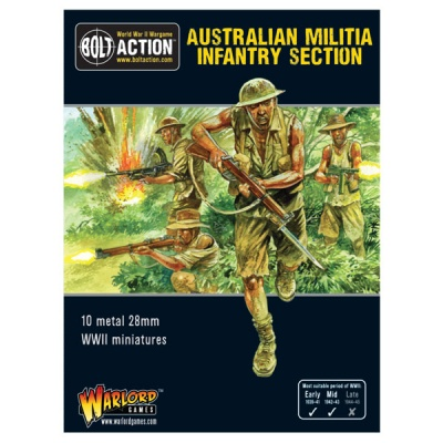 Australian Militia Infantry Section