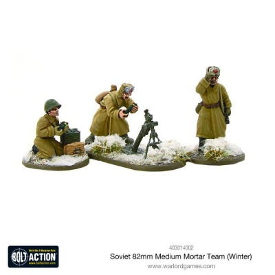 Soviet 82mm medium mortar team (Winter)