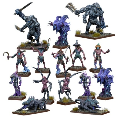 Kings of War Vanguard: Nightstalker Faction Starter