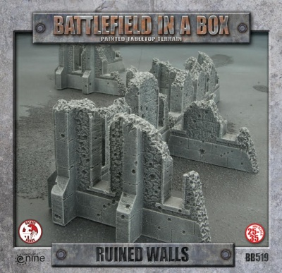 Gothic Warzones - Ruined Walls