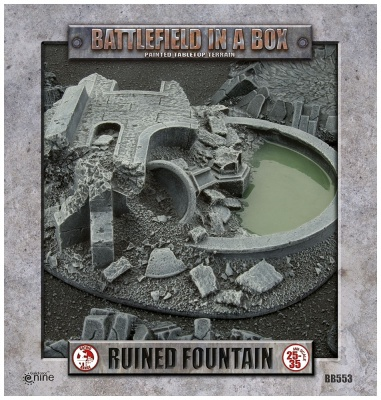 Gothic Warzones - Ruined Fountain