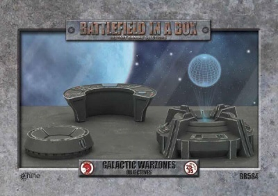 Galactic War zones - Objectives