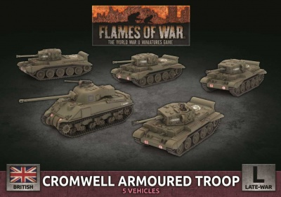 Cromwell Armoured Troop