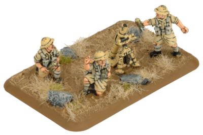 3-inch Mortar Platoon (8th Army) (Plastic)