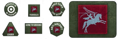 6th Airborne Tokens & Objectives