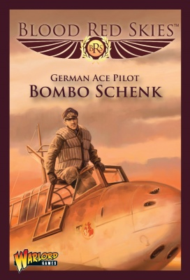 German Bf 110 Ace (Bombo' Schenk)
