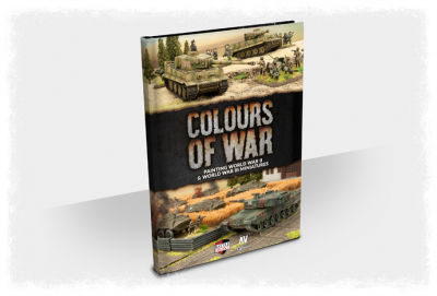 Colours of War (2019) WWII and WWIII Miniatures Painting Guide