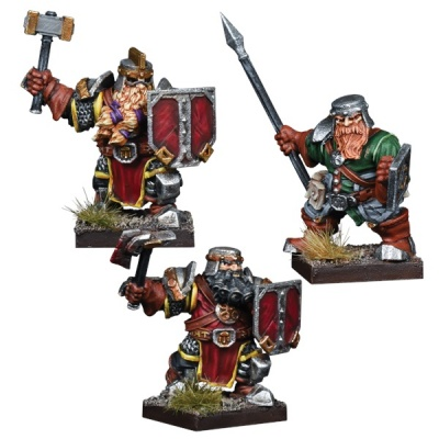 Kings of War Vanguard Dwarf Reinforcement Pack