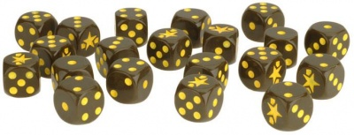 Fighting First Dice Set