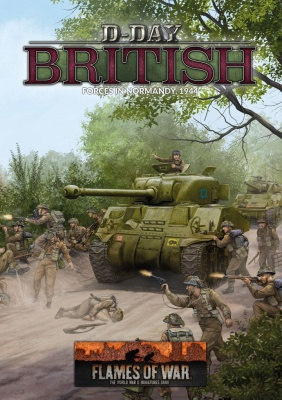 D-Day British Army Book