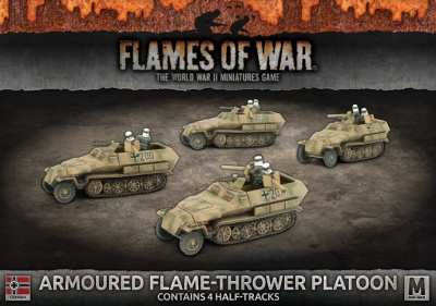 Armoured Flame Thrower Platoon