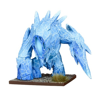 Kings of War Vanguard Northern Alliance Support Pack: Ice Elemental
