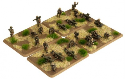 Mot-Schutzen Heavy weapons (24 figures)
