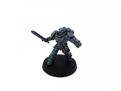 Dark Imperium Space Marine Primaris Lieutenant with Power Sword
