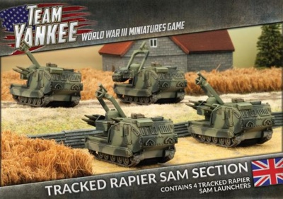Tracked Rapier SAM Section