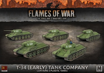 T-34 (Early) Tank Company