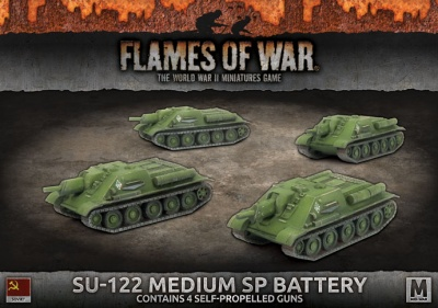 SU-122 Medium SP Battery
