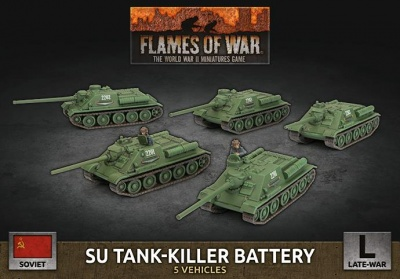 SU Tank-Killer Battery (x5 Plastic)