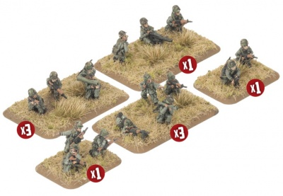 Mechanised Platoon (x32 Figures)