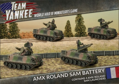 AMX Roland SAM Battery (x4)