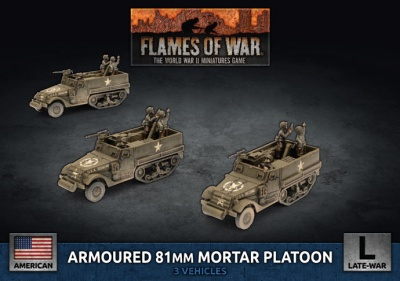 M4 81mm Armored Mortar Platoon