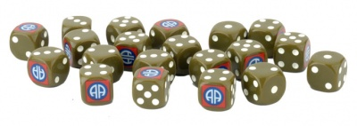 82nd Airborne Division Dice