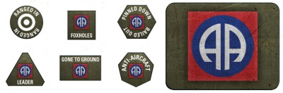 82nd Airborne Division Tokens & Objectives