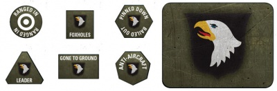 101st Airborne Division Tokens & Objectives