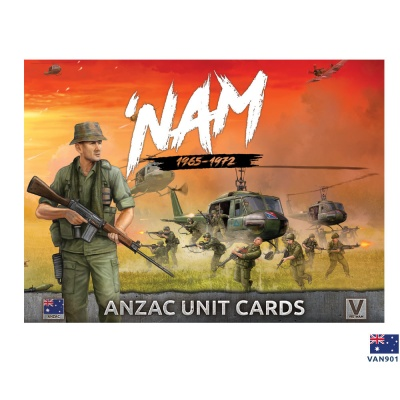 'Nam Unit Cards - ANZAC Forces in Vietnam