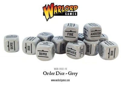 Bolt Action Orders Dice