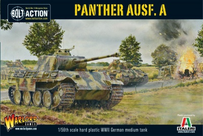 Panther Ausf A Plastic Kit