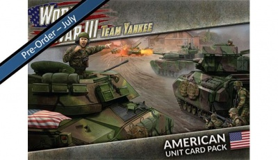 WWIII: American Unit Card Pack (2020)
