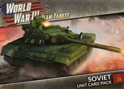 World War III: Soviet Unit Card Pack