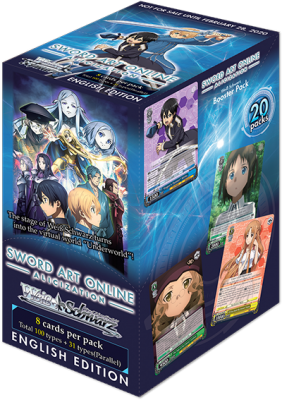 WS Booster Pack: Sword Art Online -Alicization-