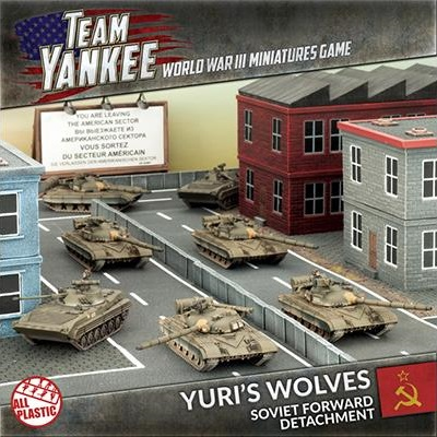 Yuri's Wolves Army Set