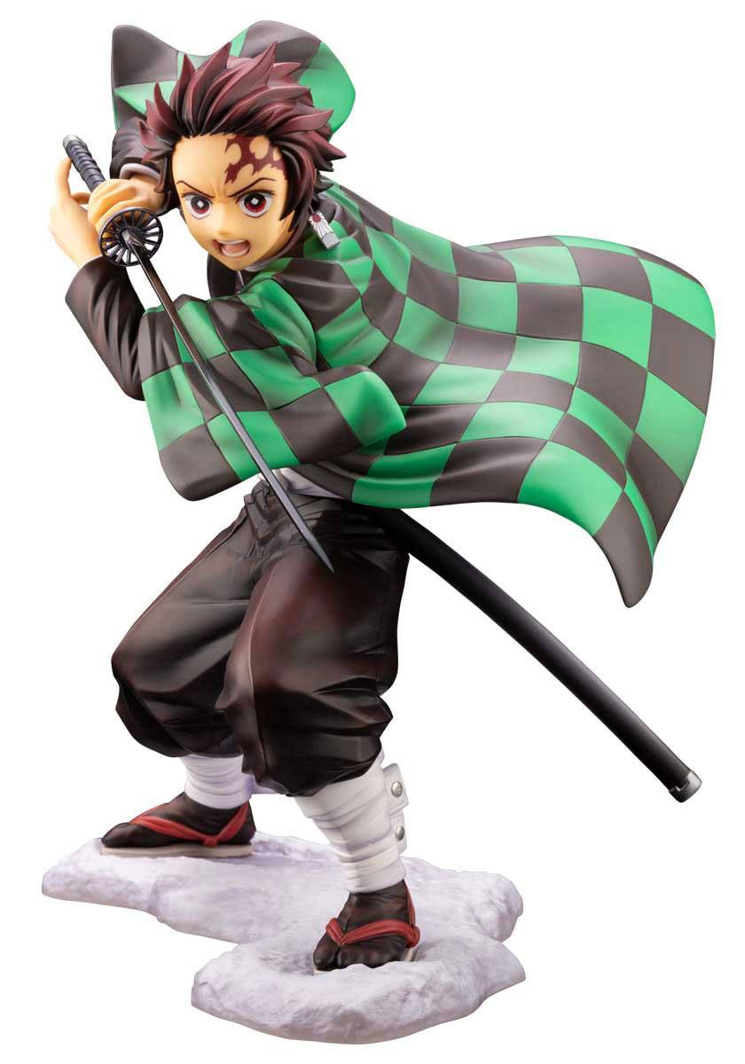 Kimetsu no Yaiba Kamado Tanjirou Action PVC Figure USA Anime Demon Slayer