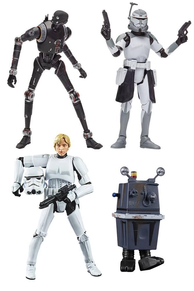 Set of 4 2020 Star Wars Vintage Collection Wave 3