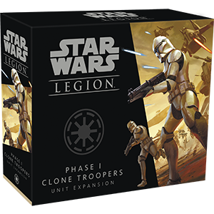 Star Wars: Legion Phase I Clone Troopers Unit Expansion