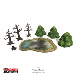 Monster Scenery Verdant Forest