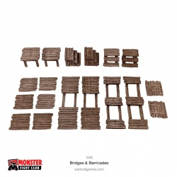 Monster Scenery Bridges & Barricades