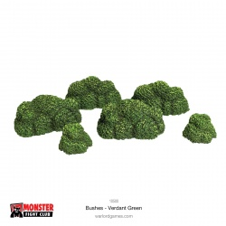 Monster Scenery Bushes - Verdant Green