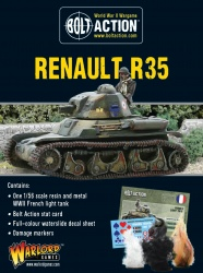 French Renault R-35 Light Tank