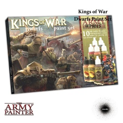 Warpaints Kings of War Dwarfs Paint Set