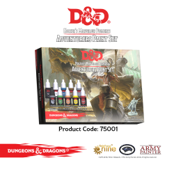 Nozulr's Marvelous Pigments - Adventurer Paint Set
