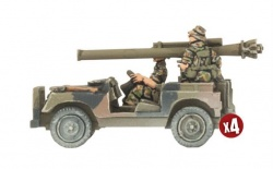 Anti-tank Land Rover Section (x4)