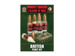 British Paint Set